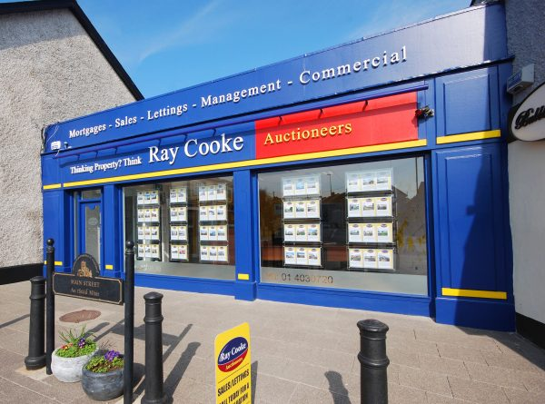 Shop Front Design – Ray Cooke Auctioneers
